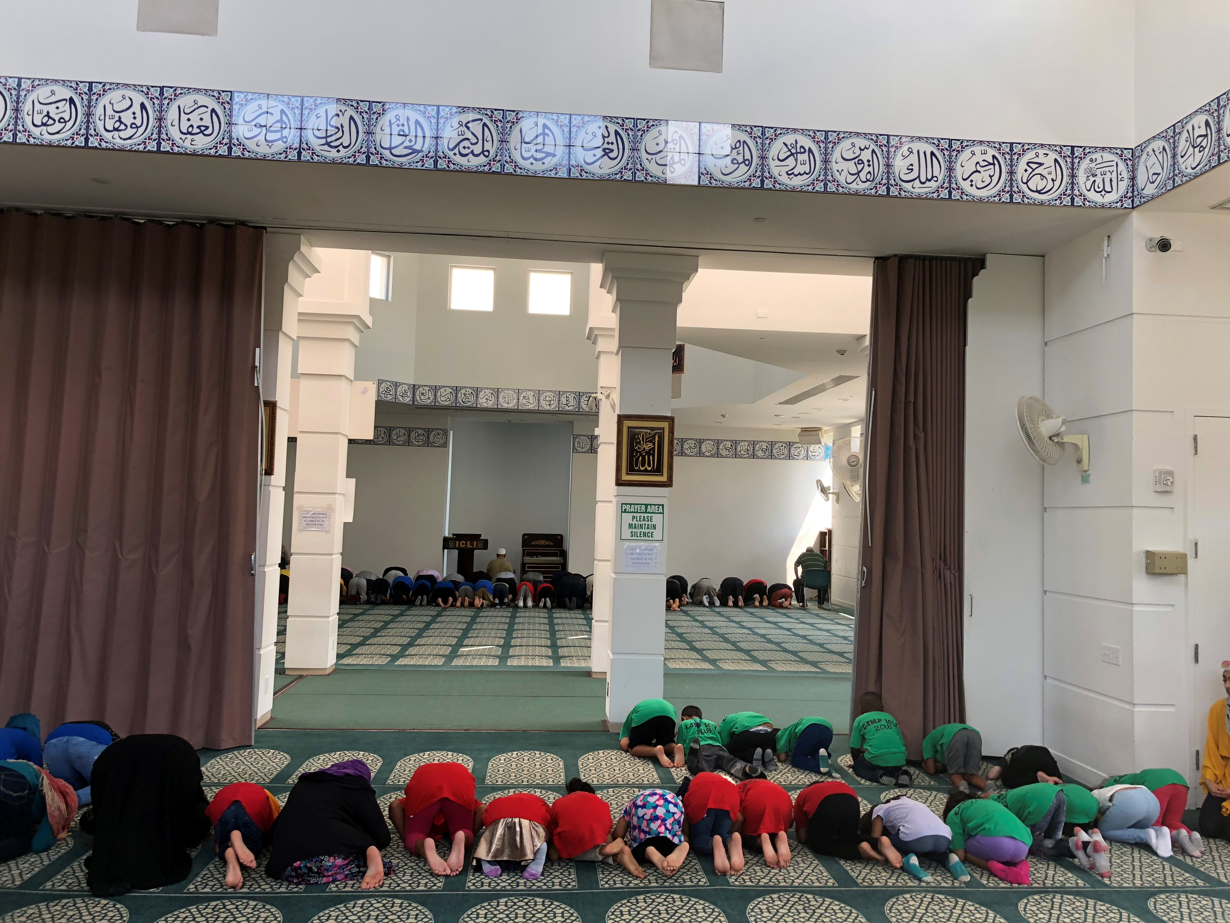 Learning how to perform Salah