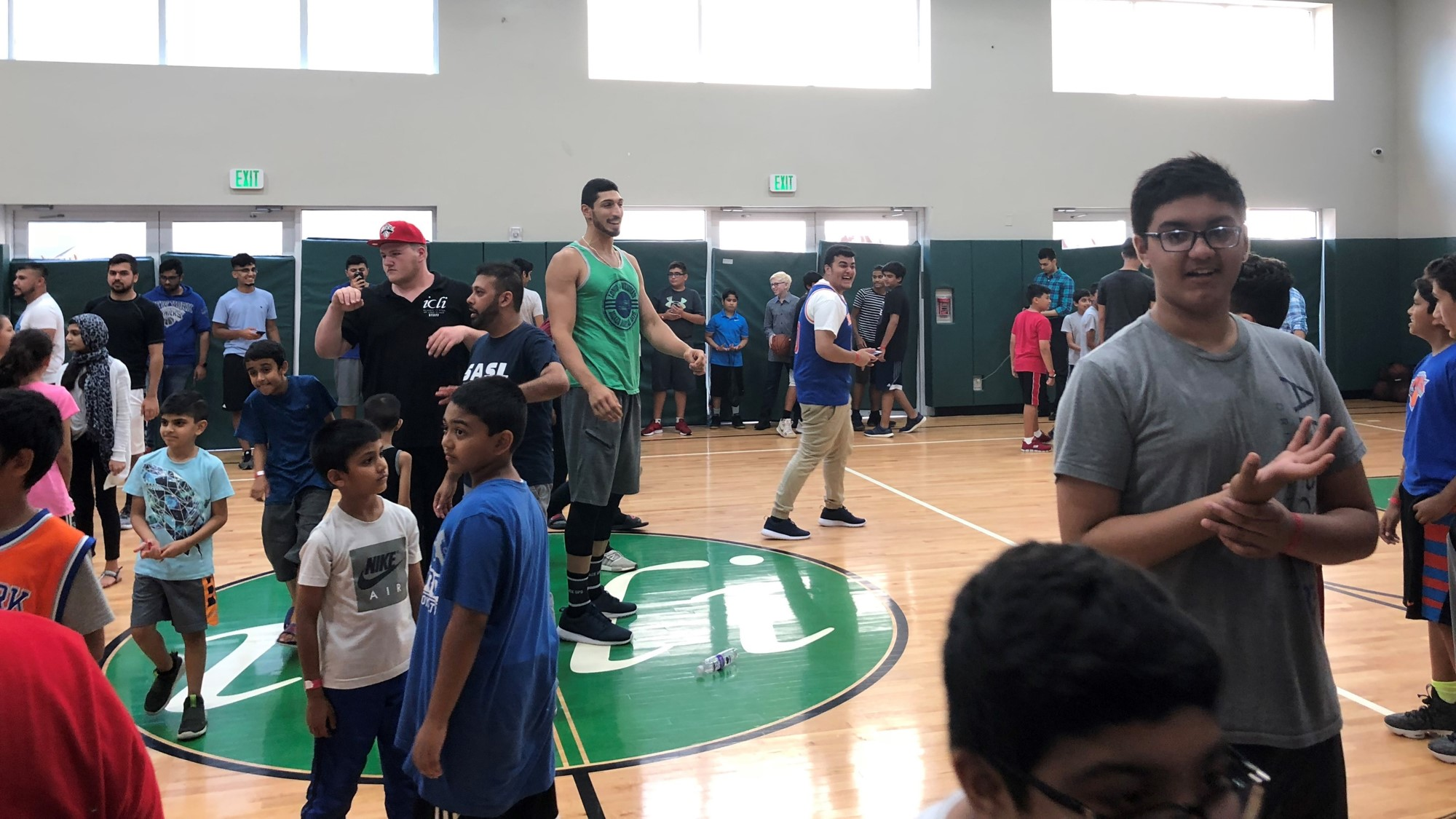 Enes Kanter at ICLI