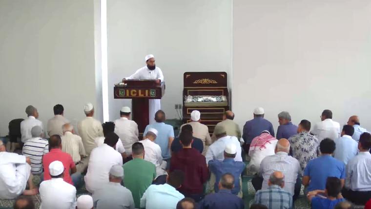 July 27 Khutbah by Mufti Farhan