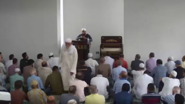 Sep 14 2018 Khutbah by Mufti Farhan
