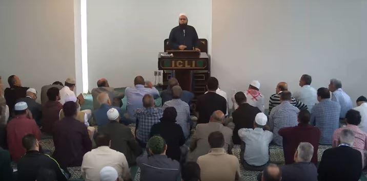 Sep 28 2018 Khutbah by Mufti Farhan