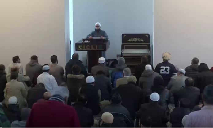 Dec 28 2018 Khutbah by Dr. Mufti Farhan