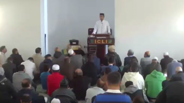 Dec 07 2018 Khutbah by Ustad Tanwir Ahmed