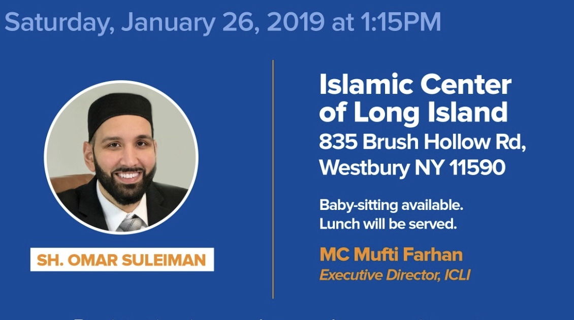 Family Event with Sh.  Omar Suleiman