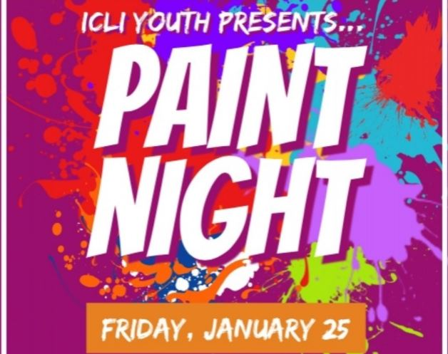 ICLI Youth Paint Night