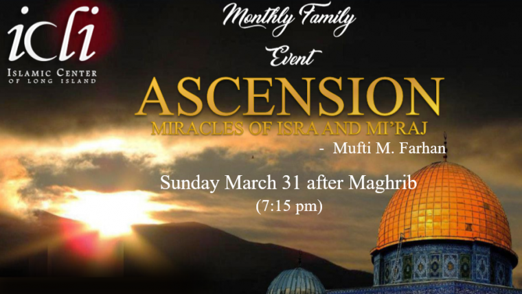 ICLI Monthly Family Event- ASCENSION