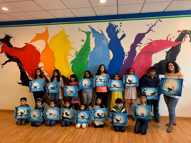 Kids Paint Workshop 2019