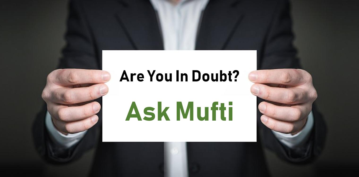 #Ask Mufti