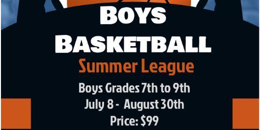 Boys Basketball Summer League Grades 7-9 & 10-12