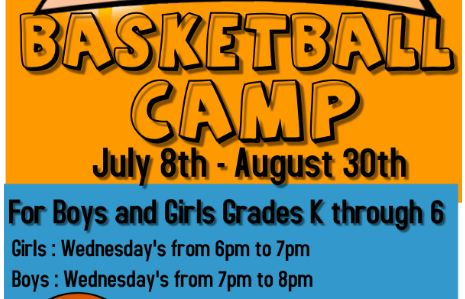 Basketball Camp Grades K-6