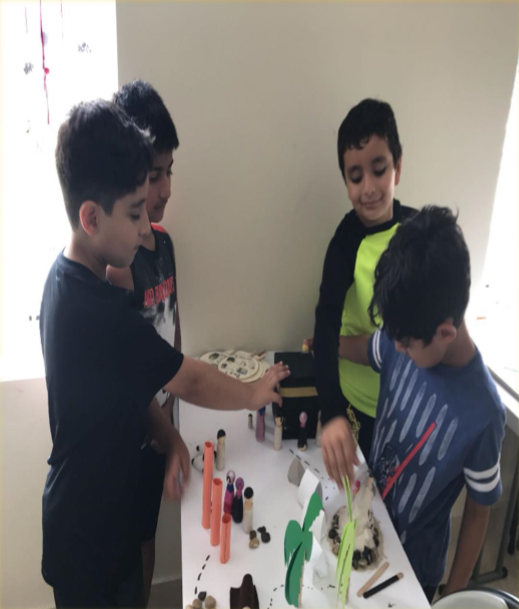 Creating Hajj Diorama