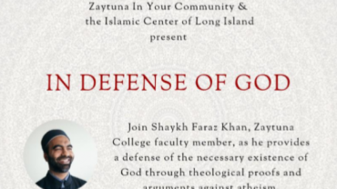 ICLI Monthly Family Event- In Defense of God