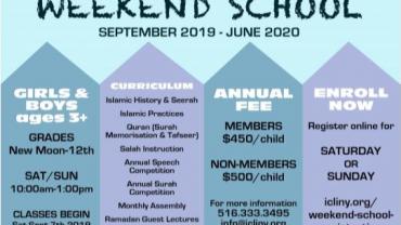 ICLI Weekend School 2019-2020
