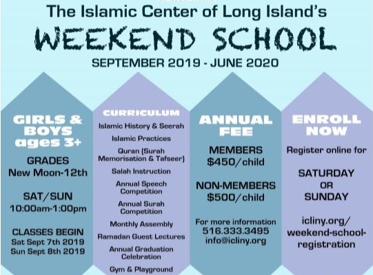 ICLI Weekend School 2019-2020