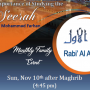 ICLI Monthly Family Event- The importance of Studying the Seerah