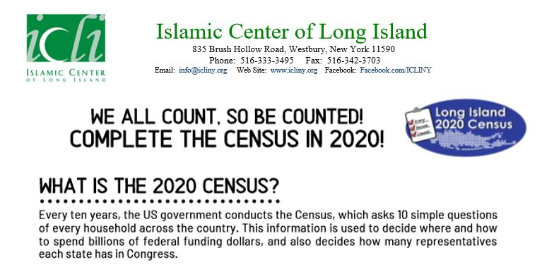 Long Island Census 2020