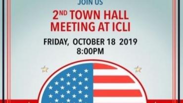 2nd Town Hall Meeting at ICLI