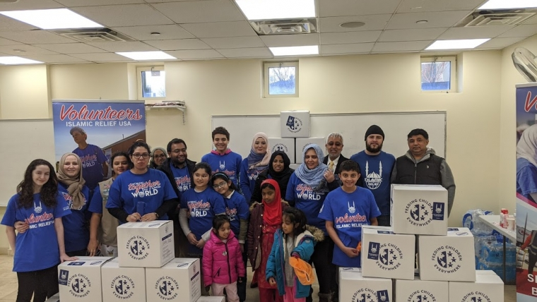 MLK Day of service – Meal Packing at ICLI in collaboration with Islamic Relief