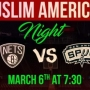 Muslim American Night on March 6th