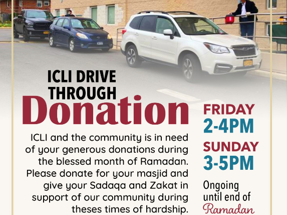 ICLI Drive Through Donations!
