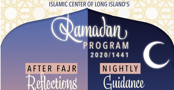 Daily virtual events during Ramadan