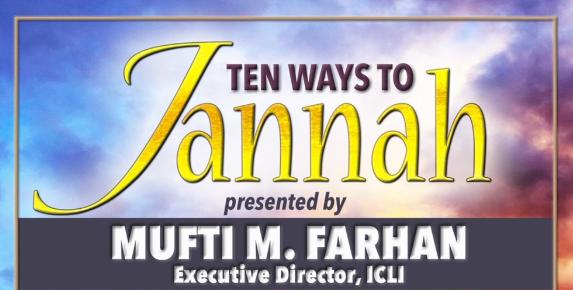TEN WAYS TO JANNAH