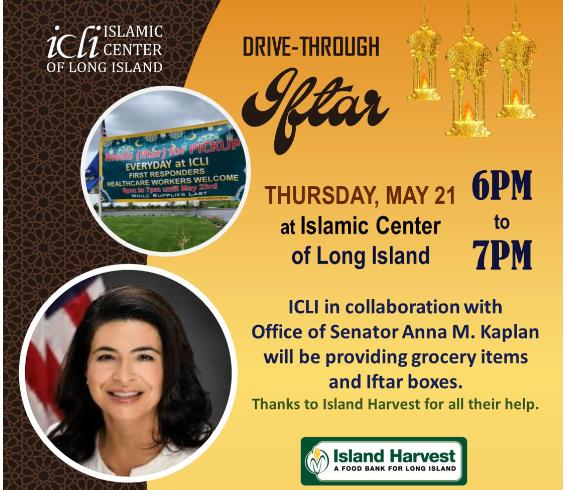 Drive-Through Iftar Meals at ICLI