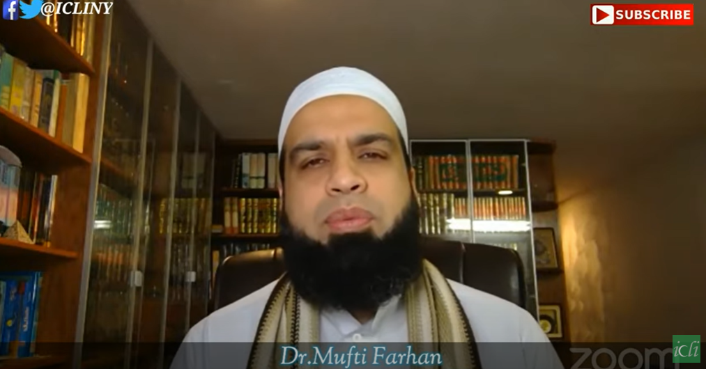 "Friday – ""Jummah"" Reflection with Dr. Mufti Farhan"