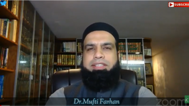 """""""Anecdotes of the Nobel"""" Day #8   Mufti Mohammad Farhan"""