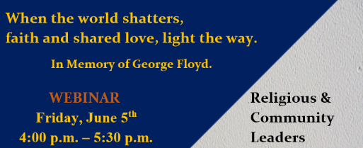 Webinar- In the memory of George Floyd