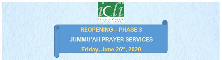 Jummah Prayers at ICLI- Phase III