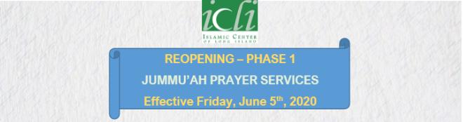 Jummah Prayers at ICLI