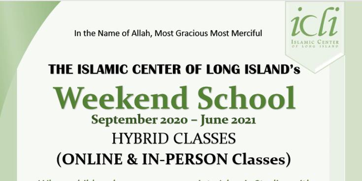 ICLI Weekend School 2020-21
