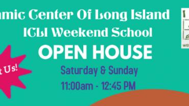 ICLI Weekend School Open House