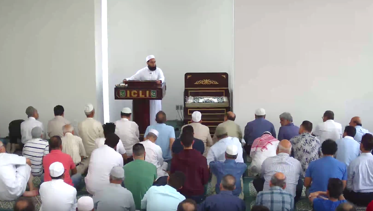 July 27 Khutbah by Mufti Farhan