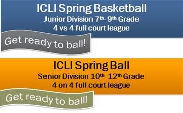 ICLI Spring Basketball 2019