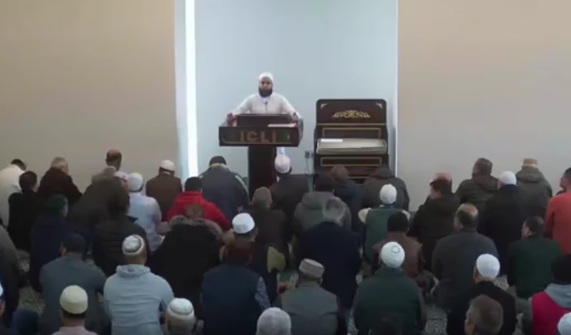 Mar 22 2019 Khutbah by Dr. Mufti M.Farhan