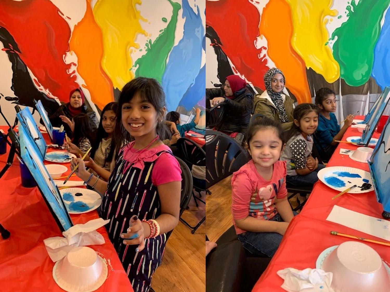 Kids Paint Workshop 2019