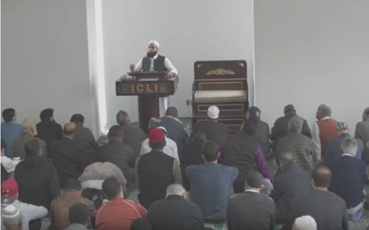 April 12 2019 Khutbah by Dr. Mufti M. Farhan