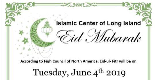 Eid-ul-Fitr 2019 – Islamic Center of Long Island