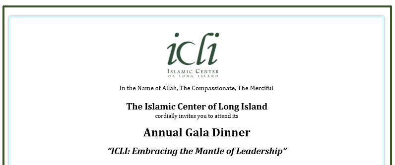 ICLI Annual Gala Dinner
