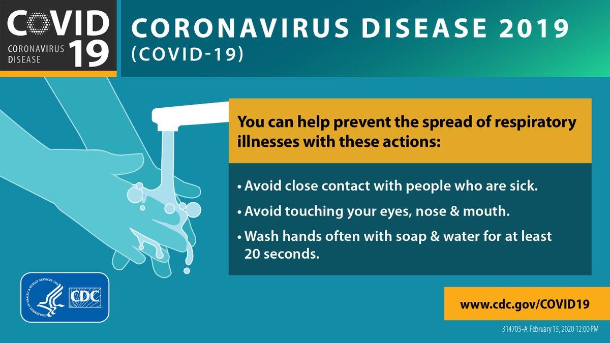 Community Update: Coronavirus or COVID-19