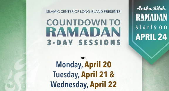 Countdown to Ramadan with Mufti M. Farhan
