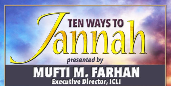 TEN WAYS TO JANNAH