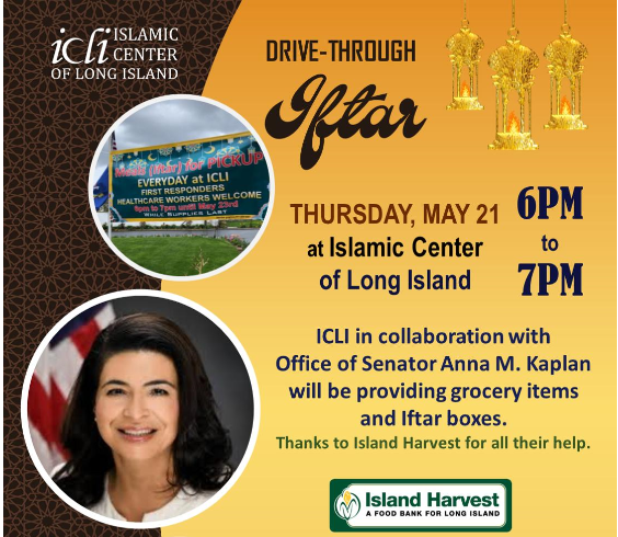 Drive-Through Iftar Meals at ICLI