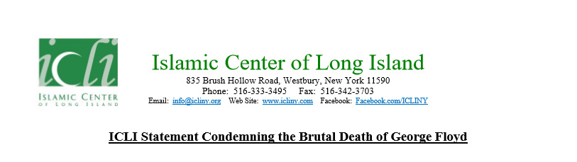ICLI Statement Condemning the Brutal Death of George Floyd