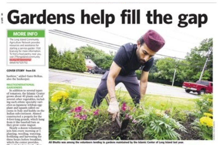 ICLI Gardens featured in the Newsday making Westbury and Long Island proud.