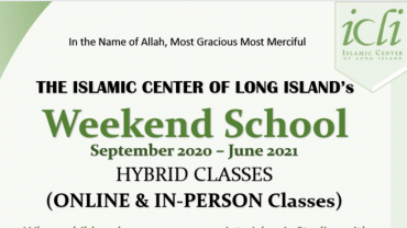 ICLI Weekend School 2020-21