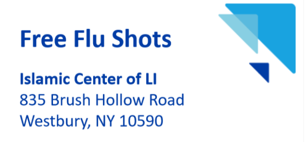 Free Flu Shots at ICLI on Oct 30th, 2020