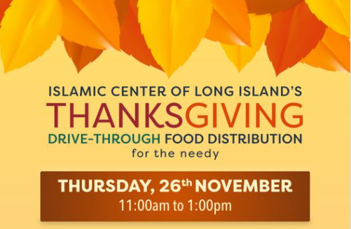 Thanksgiving meal distribution at ICLI